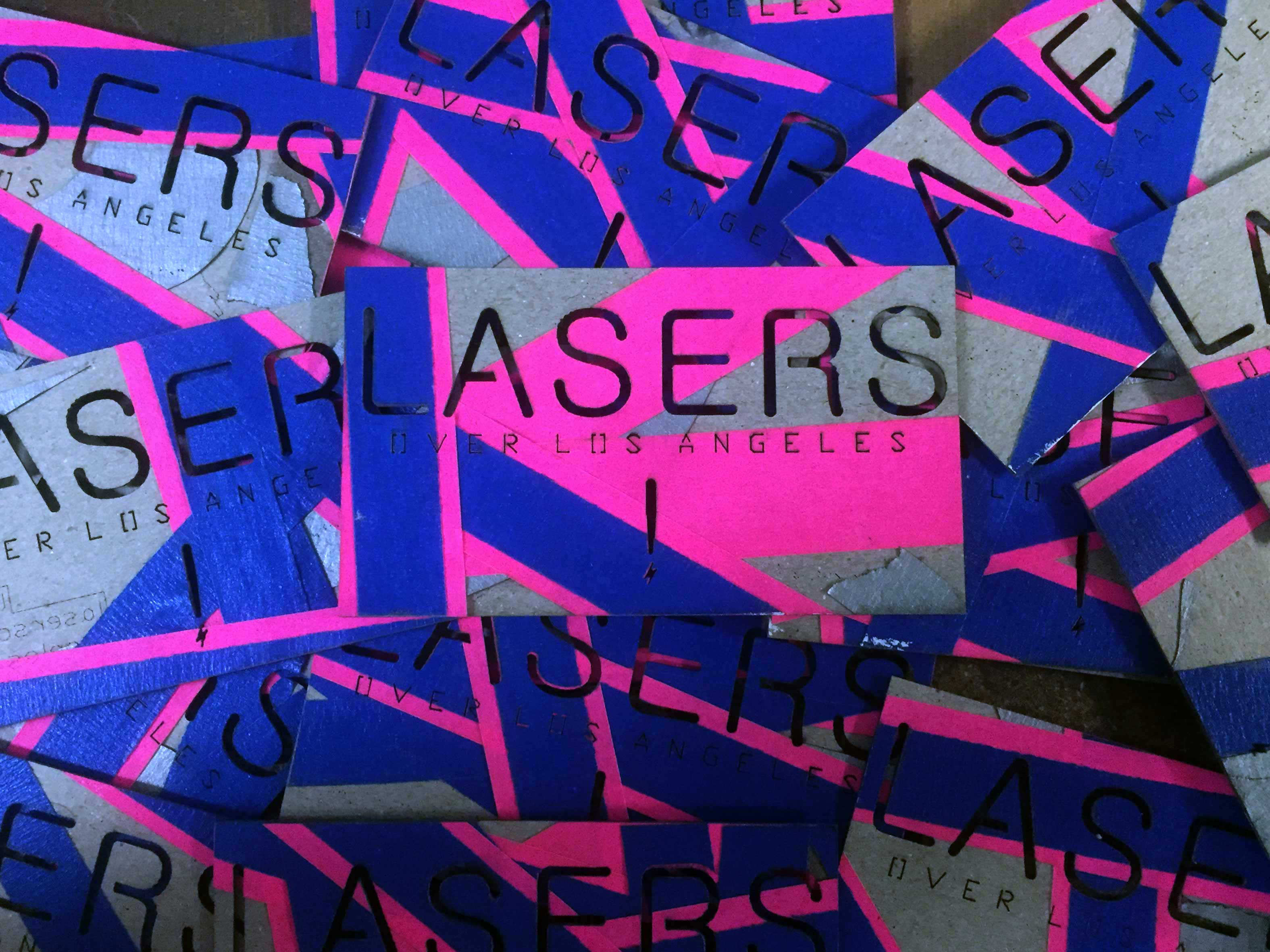 Lasers over los angeles laser cutting service archive laser lasers over los angeles lasercut business cards reheart Images