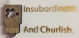 Insubordinate and Churlish Little Totem