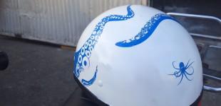 Octopus Moto Helmet